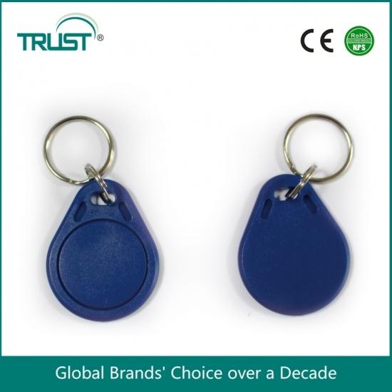 low price ABS 125khz passive rfid keyfobs